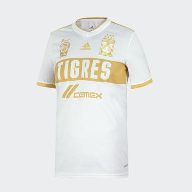 Jersey Tercer Uniforme Tigres UANL 20/21 Blanco Niño Fútbol