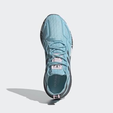 Zapatillas ZX 2K Boost Azul Mujer Originals