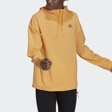 Dames Sportswear Oranje Essentials Gradient Anorak Windjack