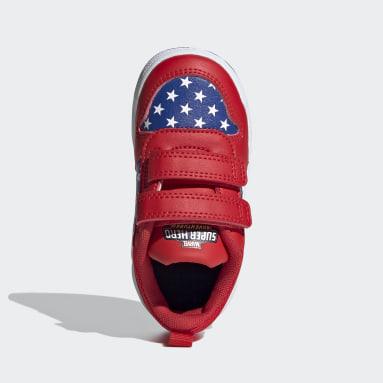 Sapatos Tensaur Vermelho Criança Running