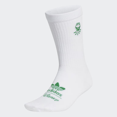Originals White Kermit Socks