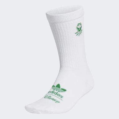 белый Носки Kermit