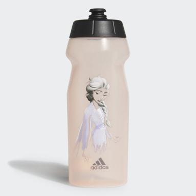 Botella de Agua Frozen Estampada (UNISEX) Rosa Niño Training