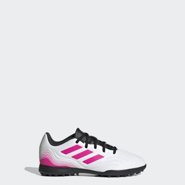 Kids Football White Copa Sense.3 Turf Boots