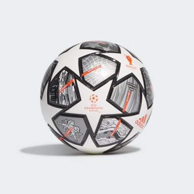 Fotboll Vit Finale 21 20th Anniversary UCL Mini Ball