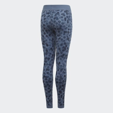 YG TR REV TIGHT Bleu Filles Fitness Et Training