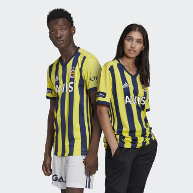 Men Football Yellow ÖZİL 67 Fenerbahçe SK 20/21 Home Jersey