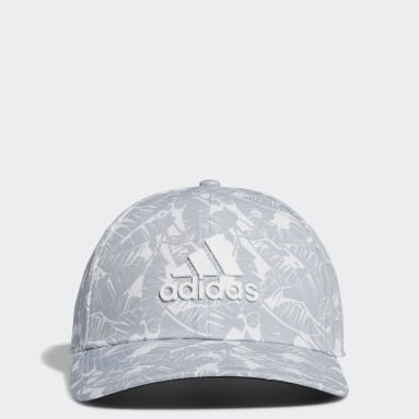 Men Golf White Tour Print Hat