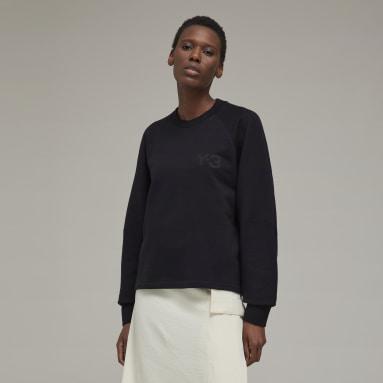 Sweatshirt Clássica Y-3 Preto Mulher Y-3