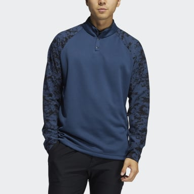 CAMO HYBD LAYER Blu Uomo Golf