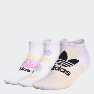 Women's Originals Multicolor Colorwash No-Show Socks 3 Pairs