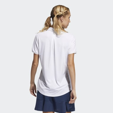 Polo Ultimate365 Solid Blanco Mujer Golf