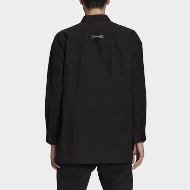 Men Y-3 Black Y-3 Classic Light Ripstop Overshirt