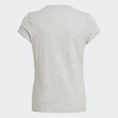 T-shirt adidas Essentials Gris Filles Sportswear