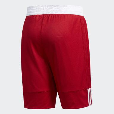 Men Basketball Red 3G Speed Reversible Shorts