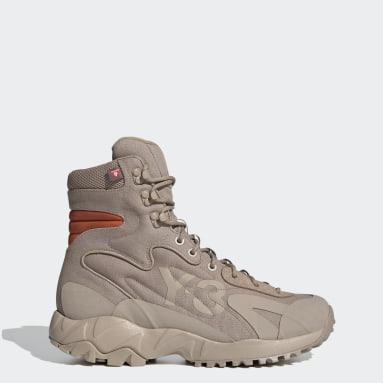 коричневый Ботинки Y-3 Notoma