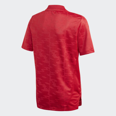 Boys Football Red Condivo 21 Primeblue Jersey