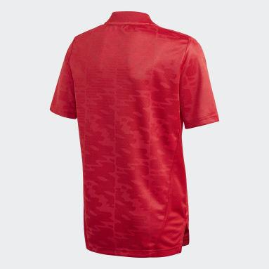 Jongens Voetbal Rood Condivo 21 Primeblue Voetbalshirt