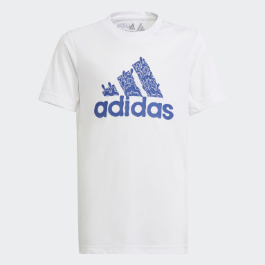 Boys Training White Aaron Kai Tee