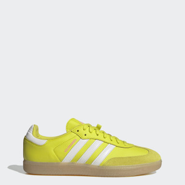 Wielrennen geel The Velosamba Fietsschoenen