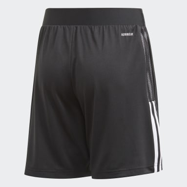 Youth 8-16 Years Football Black Tiro 21 Training Shorts
