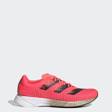 Men's Running Pink Adizero Pro Shoes