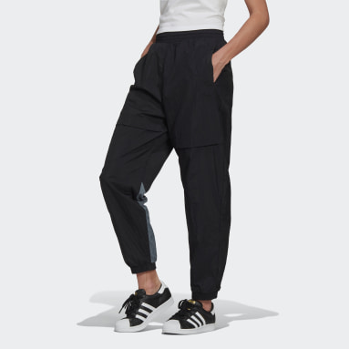 Women Originals Black Adicolor Sliced Trefoil Japona Track Pants