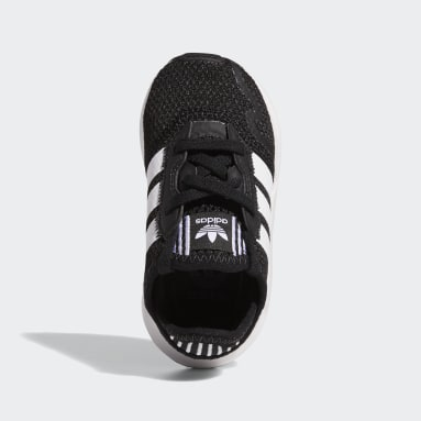 Chaussure Swift Run X Noir Enfants Originals