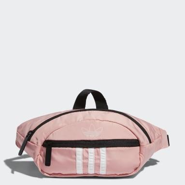 Originals Pink National 3-Stripes Waist Pack