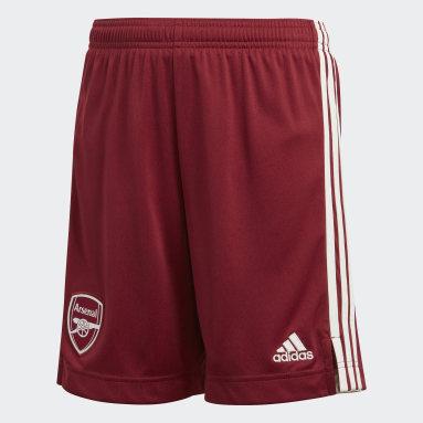 Pantalón corto segunda equipación Arsenal 20/21 Burgundy Niño Fútbol