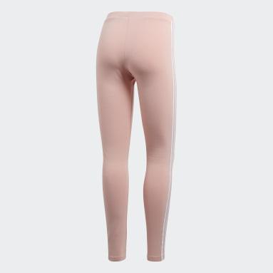 Calça Legging 3-Stripes Rosa Mulher Originals