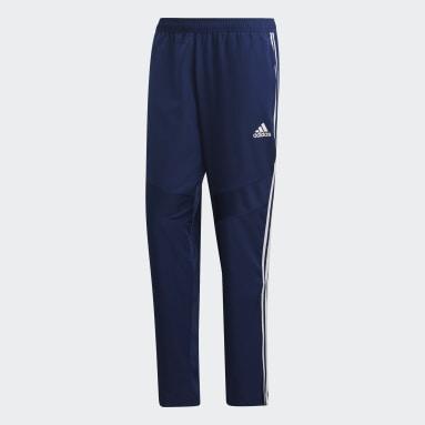 Pantalon Tiro 19 Woven Bleu Hommes Fitness Et Training