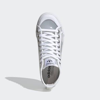 Women Originals White Nizza Hi Jelly Shoes