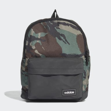 Lifestyle Black adidas Classic Camouflage Backpack Small