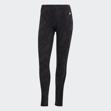 Women Sportswear Grey adidas Sportswear Future Icons Animal-Print Leggings