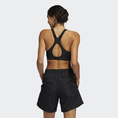Dam Vintersporter Svart High-Support Bra