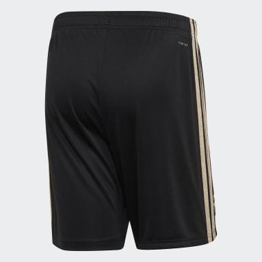 Shorts de Visitante Manchester United Negro Hombre Fútbol