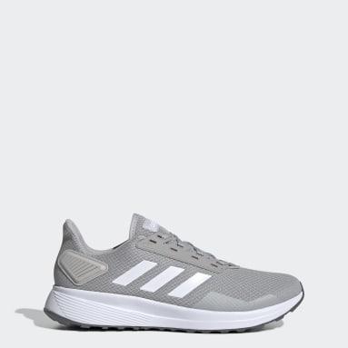 Men Running Grey Duramo 9 Shoes