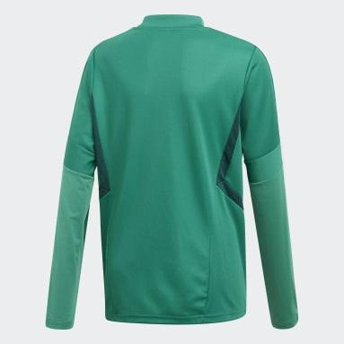Camiseta entrenamiento Tiro 19 Verde Niño Gimnasio Y Entrenamiento