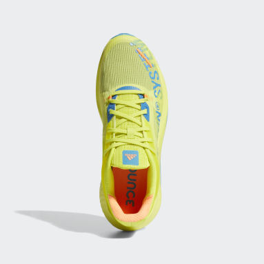 Men's Running Yellow Alphatorsion Shoes