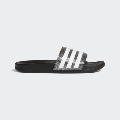 Kids Swimming Black Adilette Comfort Slides