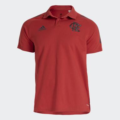 Camisa Polo CR Flamengo Vermelho Homem Futebol
