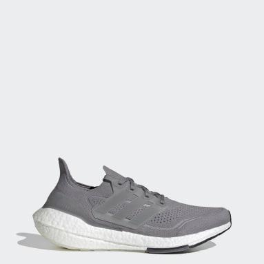 Erkek Koşu Gri Ultraboost 21 Ayakkabı