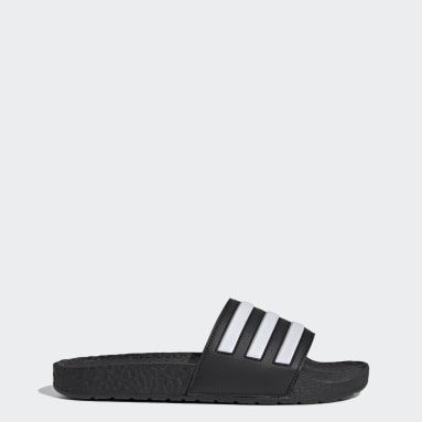 Swimming Black Adilette Boost Slides