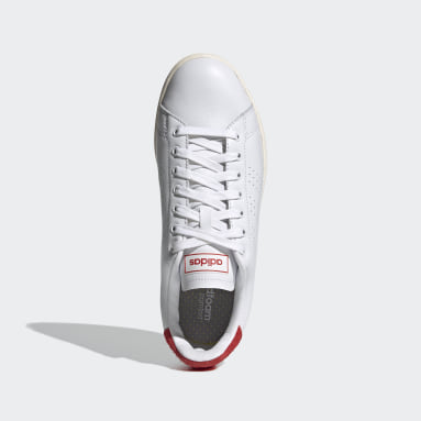 Tennis White Advantage Shoes