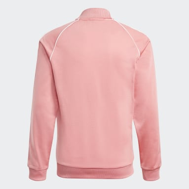Kids Originals Pink Adicolor SST Track Jacket