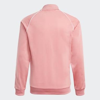 Kinderen Originals Roze Adicolor SST Trainingsjack