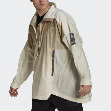 Heren City Outdoor Wit MYSHELTER Parley WIND.RDY Anorak Jack