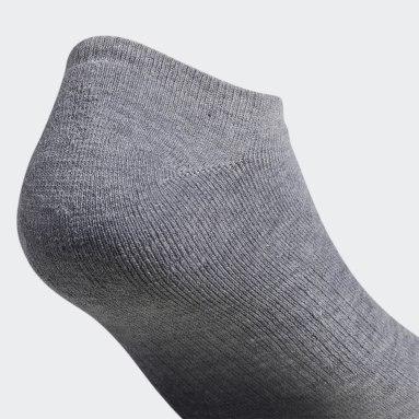 Men's Originals Grey Trefoil Ankle Socks 6 Pairs