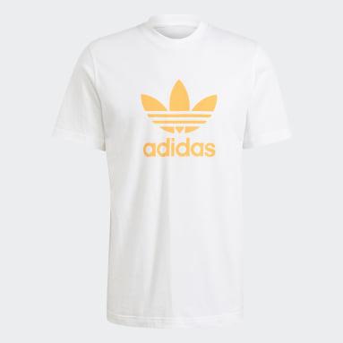 Men Originals White Trefoil T-Shirt